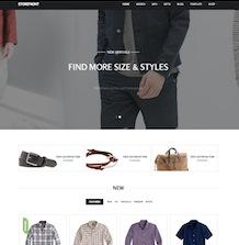 GK Storefront - шаблон с поддержкой Virtuemart