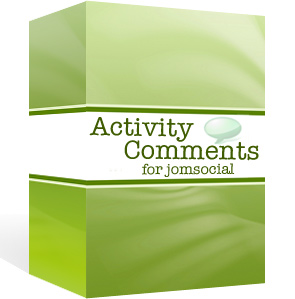 Activity Stream Comments & Likes