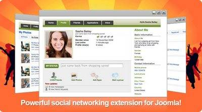 JomSocial 1.2.192 Stable FULL PACK - Component + All Extensions
