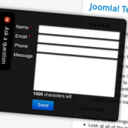 PWeb Perfect Ajax Popup Contact Form